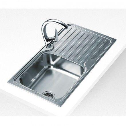 Lava-louças encastre Teka CLASSIC 1C 1E Inox (SIF)