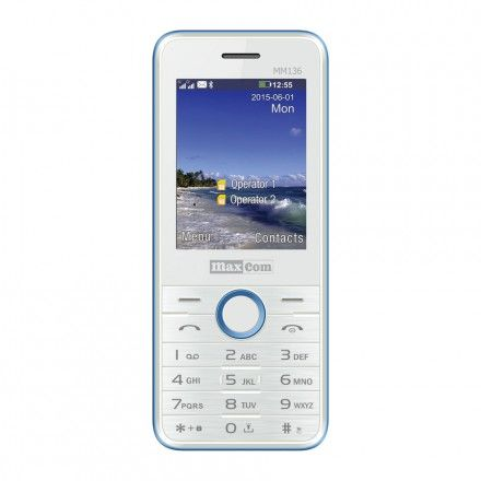 Telemóveis MaxCom MM136
