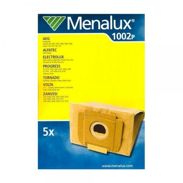 Pack 5 Sacos para aspirador ZANUSSI MENALUX 1002P