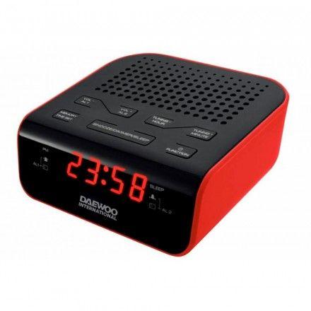 Rádio despertador Daewoo DCR-46
