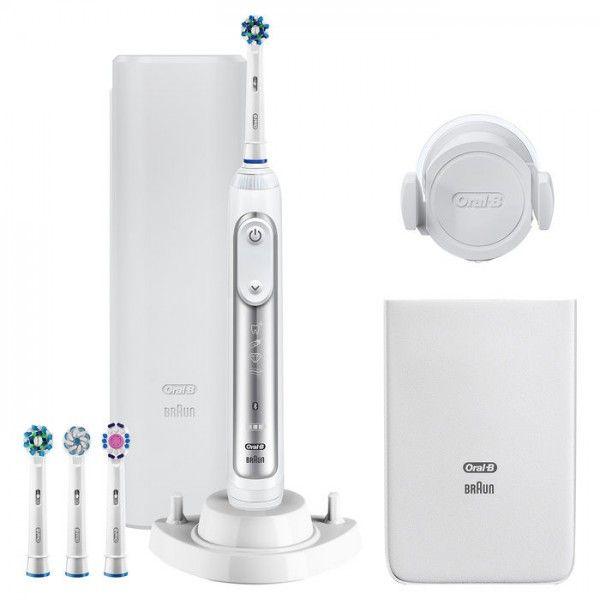 Escova de Dentes Elétrica Oral-B Genius 8600 Sinine