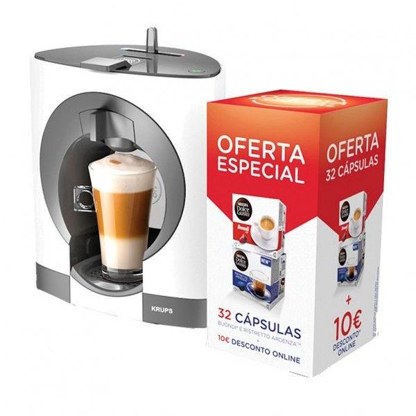 Máquina de café Krups Dolce Gusto Oblo White KP1101P6