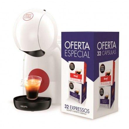 Máquina de Café Krups Dolce Gusto Piccolo XSKP1A01