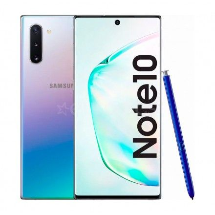 Smartphone Samsung Galaxy Note 10 256 GB (Prateado)