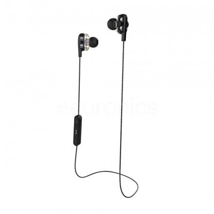Auriculares CoolBox CoolTwin Black