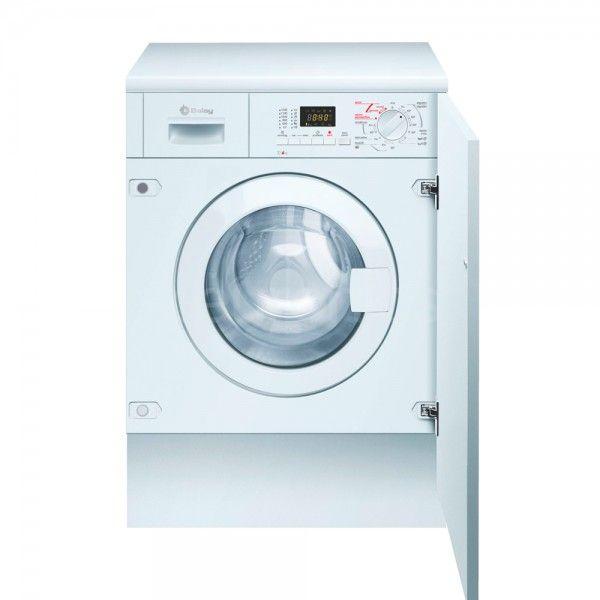 Máq. de lavar e secar roupa de encastre Balay 3TW776B