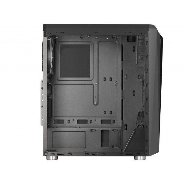Caixa para computador Mars Gaming MCL RGB Black Window