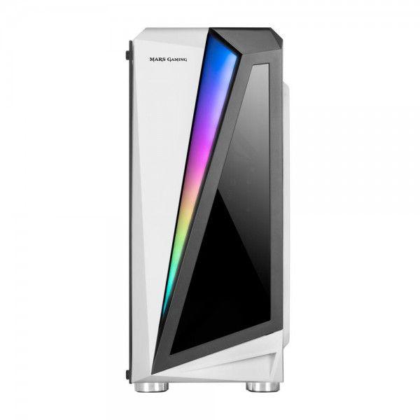 Caixa para computador Mars Gaming MCL RGB WhiteWindow