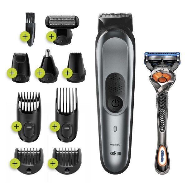 Aparador de barba e cabelo Braun MGK7221