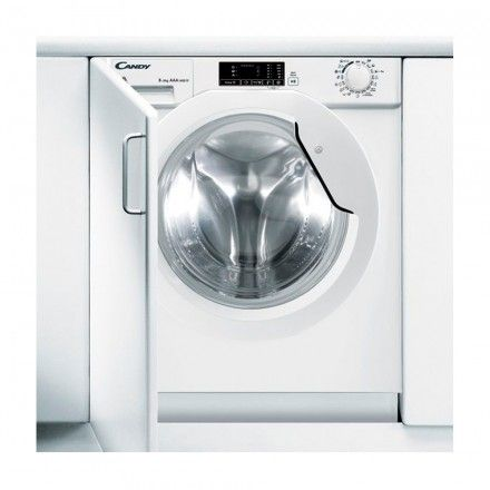 Máquina de Lavar e Secar Roupa Encastre Candy CBWD 8514D