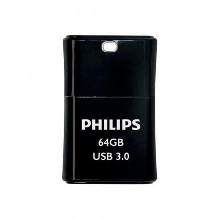 Philips Pen USB 3.0 64 GB Pico Edition Black
