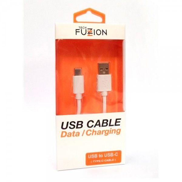 Cabo Telemóvel Tech Fuzzion USB Type-C