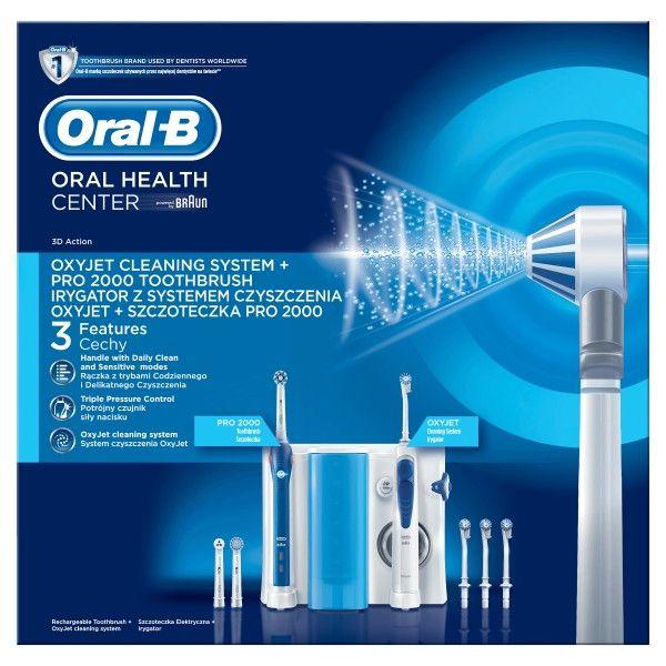 Centro Dental ORAL B Oxyjet +2000