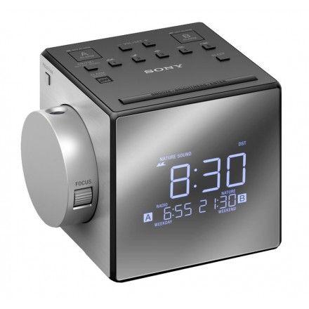 Rádio despertador Sony ICF-C1T