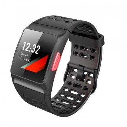Smartwatch Weeplug Explorer 3S Relógio Multifunções Gps Integrado (Vermelho)