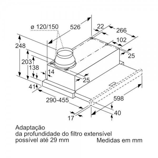 Exaustor Siemens LI64MB521