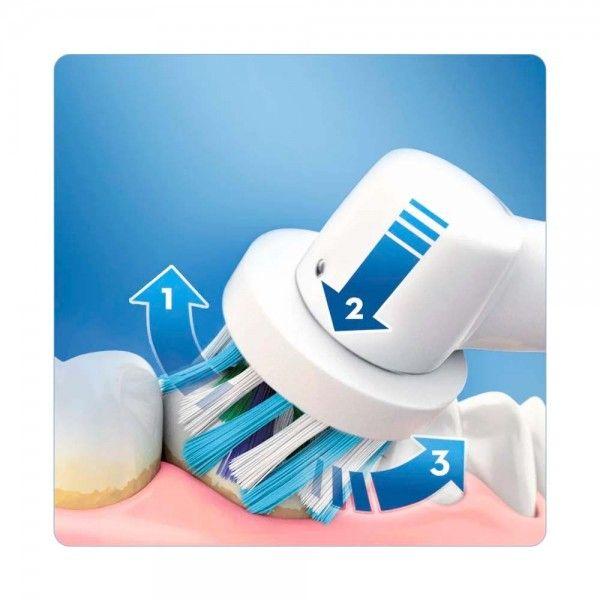Escova de Dentes Elétrica ORAL B Vitality Crossact Azul