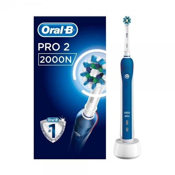Escova de Dentes Elétrica ORAL B 2000 Cross Action Azul