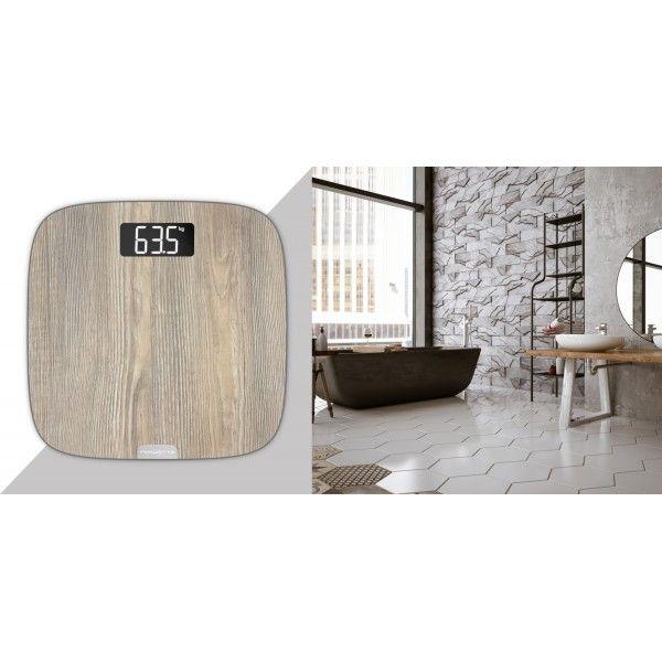 Balança Digital Rowenta Origin Light Wood