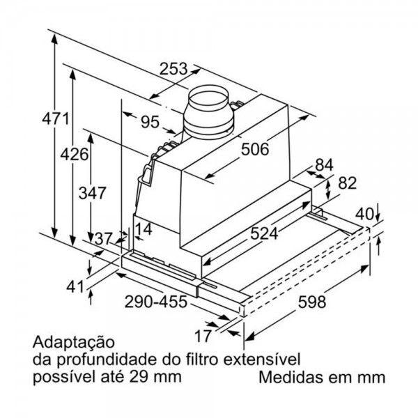 Exaustor Bosch DFS067A51